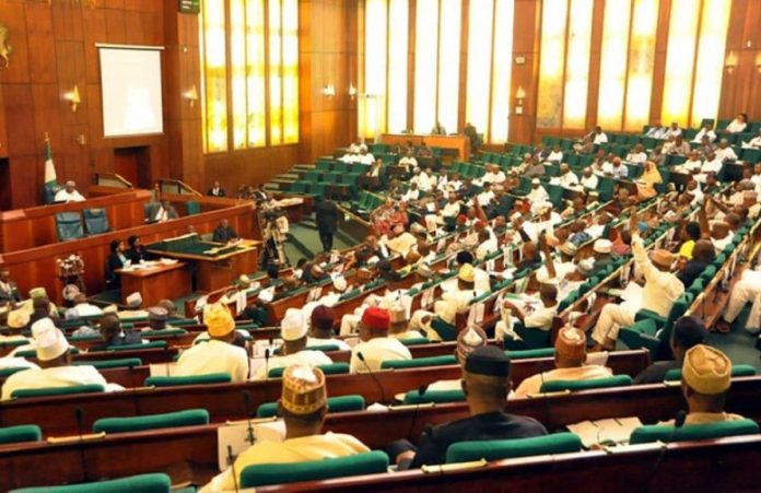A Picture Of The Nigerian House Of Representative meeting